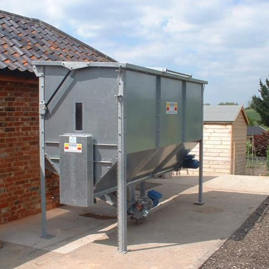 Perry of Oakley biomass hopper