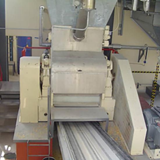 Perry of Oakley flake milling machine