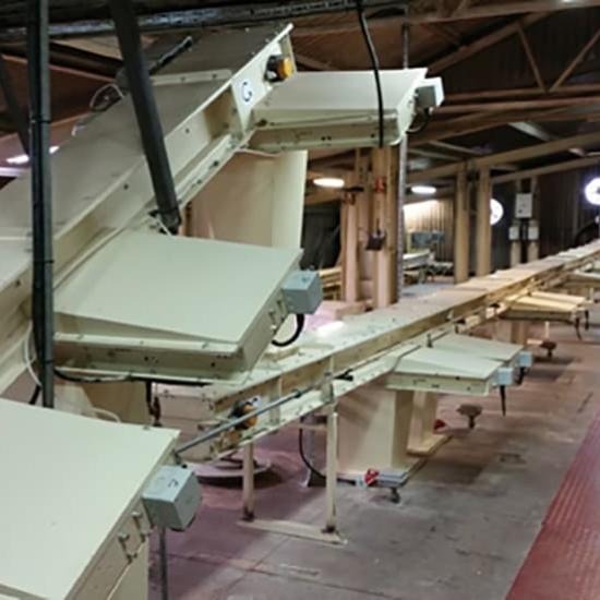 Perry of Oakley milling conveyors